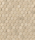 FAP Ceramiche  Connection : Natural Round Mosaico, 29.5х32.5