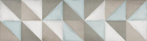 Ibero Ceramicas Porcelanico Intuition: Flair Aquamarine Rec., 29x100